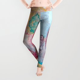 A delicious afternoon Leggings