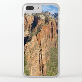 Zion National Park Clear iPhone Case