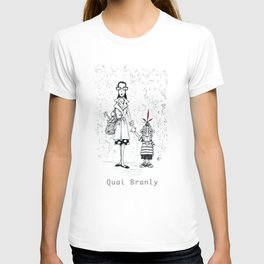 A Few Parisians by David Cessac: Quai Branly T-shirt