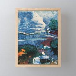 Mini World Environmental Blues 2 Framed Mini Art Print