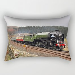 60163 Tornado at Blea Moor Rectangular Pillow