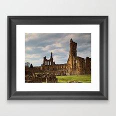 Byland Abbey 2 Framed Art Print