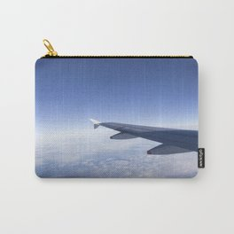 Heavenly Blue Skies Flying Carry-All Pouch