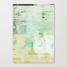 above sea level Canvas Print