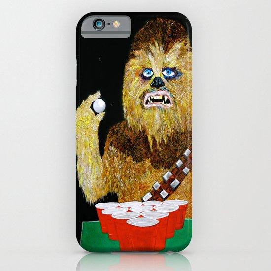 BEER PONG WOOKIE iPhone & iPod Case