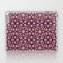 Whisper Pink Geometric Pattern Laptop & iPad Skin