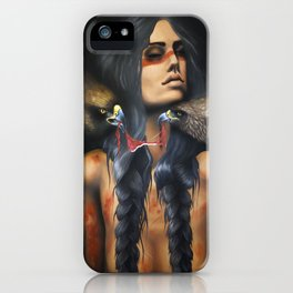 Running Eagle iPhone Case