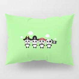 Panda Pirates Crew T-Shirt for all Ages Dt4v1 Pillow Sham