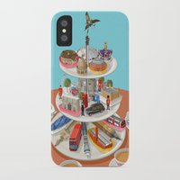 british iPhone & iPod Cases featuring a very British past time by John Holcroft