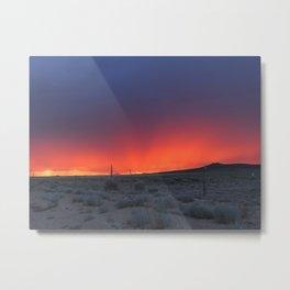 Colorful Horizons Metal Print