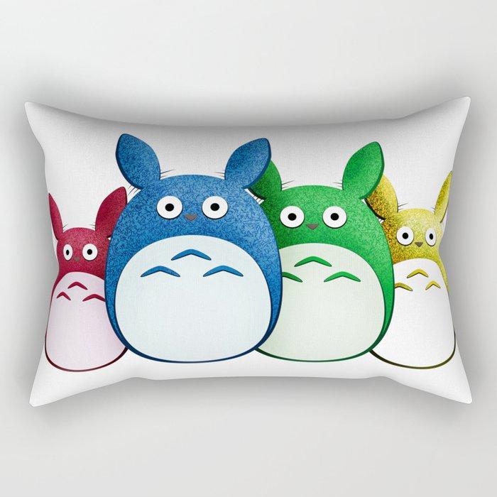 Spirits of the Forest, Group Rectangular Pillow