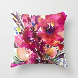 Floral Dance No. 3 Throw Pillow