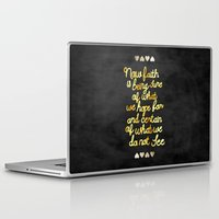 faith Laptop & iPad Skins featuring Faith  by Perrin Le Feuvre