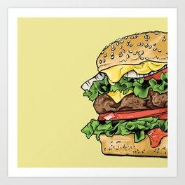 Eat Me Art Print