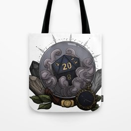 Cancer D20 - Tabletop Gaming Dice - The Astrology Collection Tote Bag