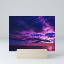 Scituate Reservoir, Rhode Island Late Summer Sunset Mini Art Print