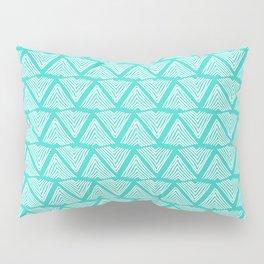 Lagos: Aqua Tiles Pillow Sham