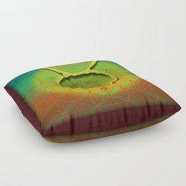 Flower of Life TAURUS Astrology Design Floor Pillow