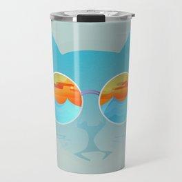 Chill Cat Travel Mug