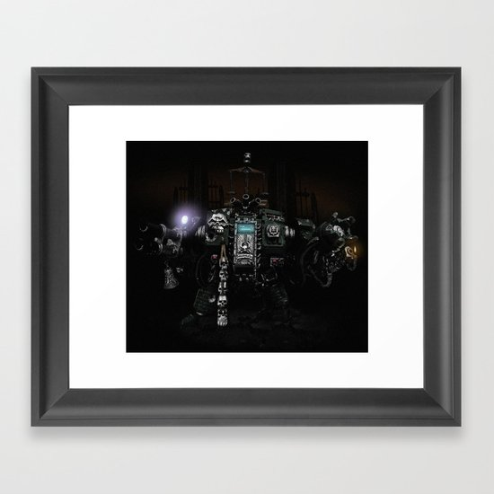 Death Incarnate Framed Art Print