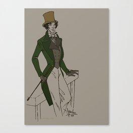 Sherlock - Oldschool Canvas Print