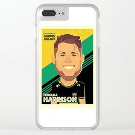 Teimana Harrison - Northampton Saints Clear iPhone Case