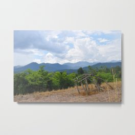 Home Upon The Hill Metal Print