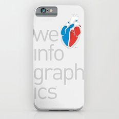 We Love Infographics Slim Case iPhone 6s