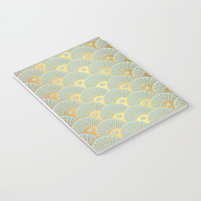Fan Gold Notebook