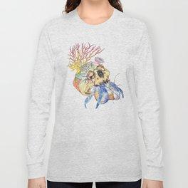 Home I: Hermit Crab Long Sleeve T-shirt