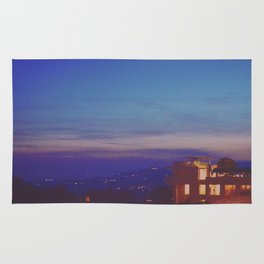 The Getty at Twilight Rug