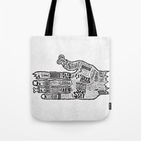 vancouver Tote Bags featuring Vancouver by Aaron Schwartz