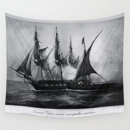 Gaspard Vence - 1777 / Corsaire Wall Tapestry