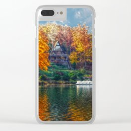 House on the Lake Clear iPhone Case