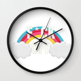 F*uck off Wall Clock