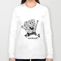 vampire weekend Long Sleeve T-shirts featuring Weekend! by Lyre Aloise
