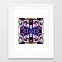 beth hoeckel Framed Art Prints featuring BETH DITTO by Riot Clothing