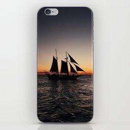 Sunset Sailboat iPhone Skin