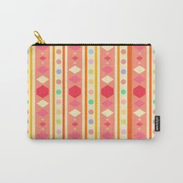 Happy Tribal Pattern Carry-All Pouch