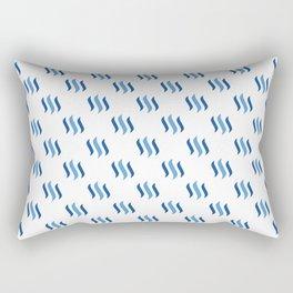 Steem - Crypto Fashion Art (Medium) Rectangular Pillow