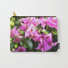 Purple Pink Bougainvillia In Blossom  Carry-All Pouch