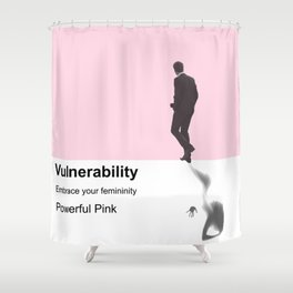 The new strength Shower Curtain