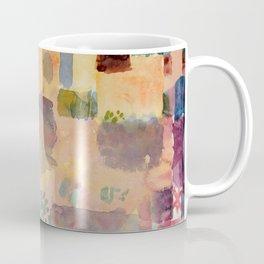 "Paul Klee ""Garden in St. Germain, The European Quarter Near Tunis 1914"" Coffee Mug"