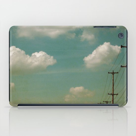 Electric Blue iPad Case