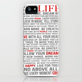 All about life iPhone Case