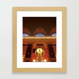 Grand Central Terminal, New York Framed Art Print
