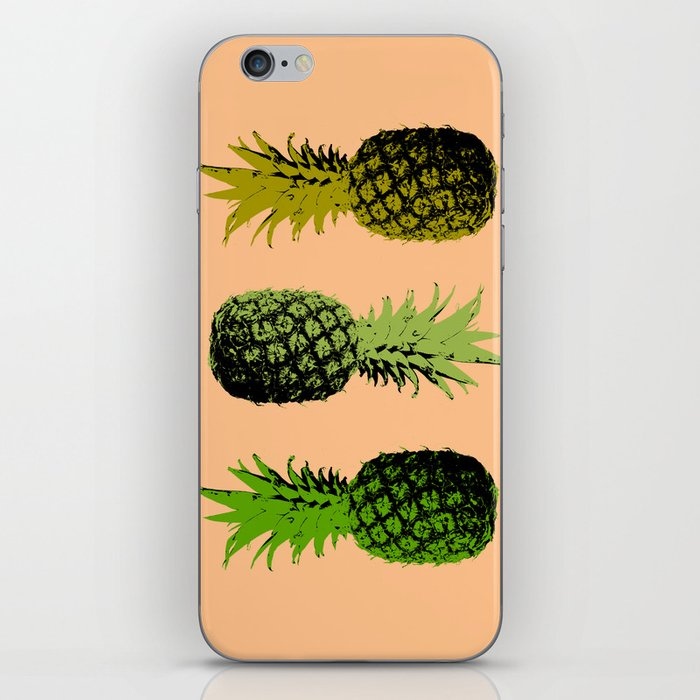 Pineapple - Flat iPhone Skin