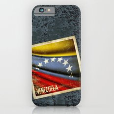 Grunge sticker of Venezuela flag Slim Case iPhone 6s