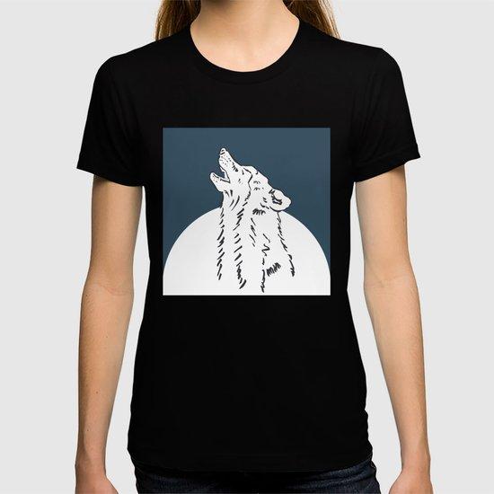 Pra Loup Howling Wolf by loupa