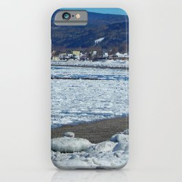 Frozen Beach iPhone Case